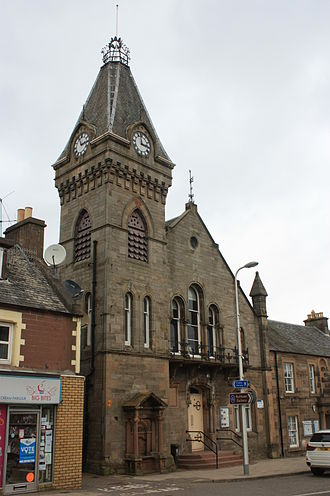 David Cousin - Auchterarder Free Church by David Cousin
