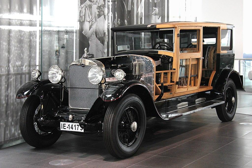 Audi 18-70 PS, Typ M, Bj. 1925 - Rahmen (museum mobile 2013-09-03).JPG