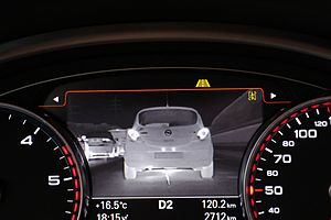 Automotive night vision - Audi A8 Night Vision Assistant