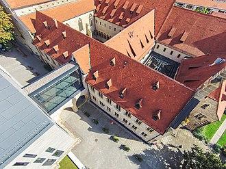 St. Augustine's Monastery (Erfurt) - Image: Augustinerkloster zu Erfurt von oben