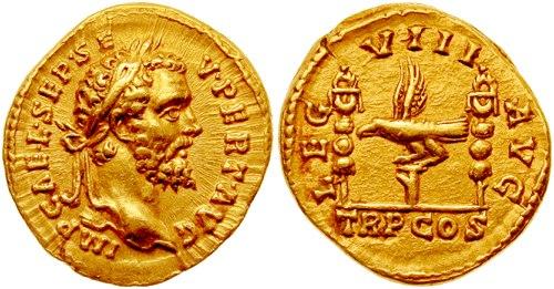 Aureus-Septimius Severus-l8augusta-RIC 0011,Aureus