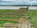 Aust Ferry (Looking along the pier to the slipway) - geograph.org.uk - 542323.jpg