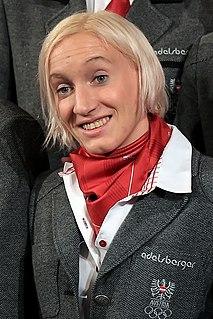 Daniela Iraschko-Stolz Austrian ski jumper