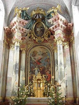 Klagenfurt Cathedral - Image: Austria Klagenfurt Dome 08