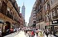 Avenida Francisco I. Madero, Centro Histórico, Ciudad de México - Torre Latinoamericana.jpg