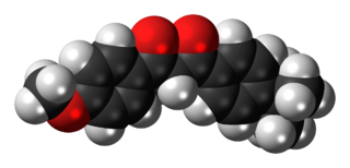 Avobenzone Oil-soluble ingredient used in sunscreen products