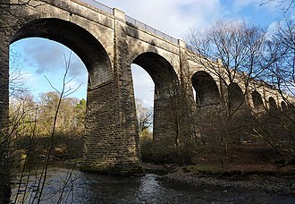 River Avon, Falkirk - Aqueduct over the River Avon