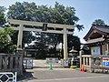 Azusamitenjinsha (Tachikawa) Torii.jpg