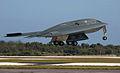 B-2 Spirit 88-0329 taking off from Andersen AFB Guam.jpg