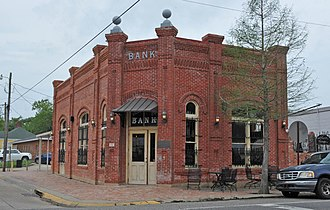 National Register of Historic Places listings in Evangeline Parish, Louisiana - Image: BANK OF VILLE PLATTE, EVANGELINE PARISH