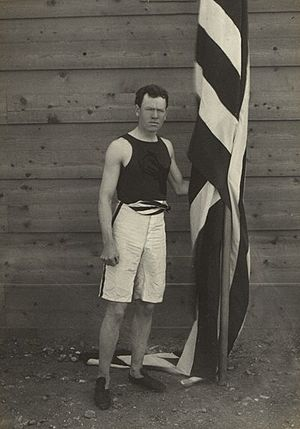 James Brendan Connolly - Connolly at the 1896 Olympics