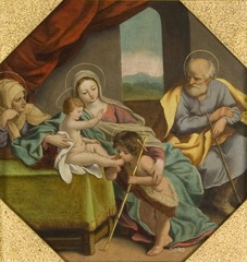 The Holy Family with St. Anne and St. John the Baptist