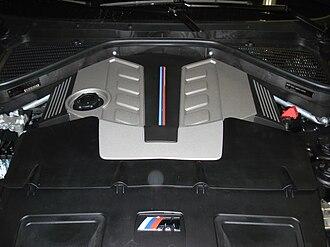 BMW X5 (E70) - BMW X5 M S63 Engine