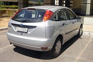 Ford Focus (first generation) - 5-door hatch (pre-facelift)