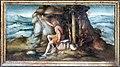 Bacchiacca, battesimo di cristo, predella, 02 il battista nel deserto.jpg