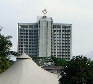 Wisma Bapa Malaysia - Backside of Wisma Bapa Malaysia