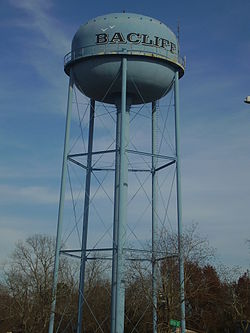 Bacliff water tower