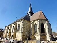 Bailleul-sur-Thérain (60), église Saint-Lude, vue depuis le sud-est.jpg