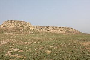 Pushkalavati Museum - Image: Bala Hisar Charsadda Northern Mound