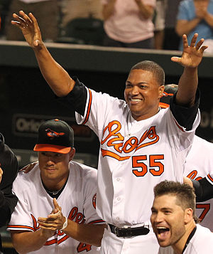 Alfredo Simón - Simón with the Baltimore Orioles