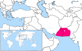 Baluchi Language Location Map.PNG