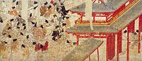 Ban Dainagon Ekotoba - Crowd and a gate.jpg