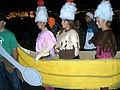 Banana split, Hallowe'en, UNC, Chapel Hill, NC.jpg