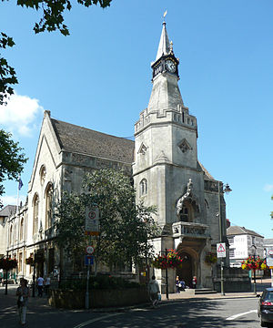 Banbury - Image: Banbury Town Hall