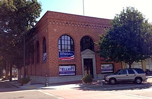 National Register of Historic Places listings in San Joaquin County, California - Image: Bank of Italy Tracy, CA