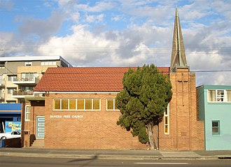Banksia, New South Wales - St Savvas Of Kalymnos Orthodox Church (formerly the Banksia Free Church)