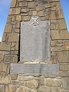 Bannockburn Monument plaque - geograph.org.uk - 1538086