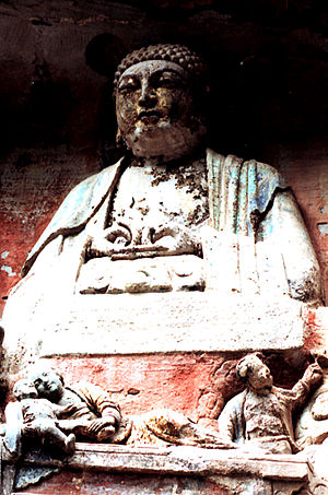 BaoDing Mountain Buddha 重庆大足宝顶山石刻