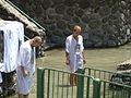 Baptism in Jordan River P1020564.JPG