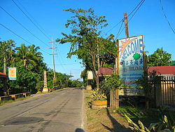 An entrance to Brgy. Bilogo