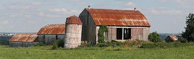 Old Barn, Ontario, Canada