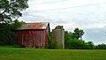 Barn and Silo West of Merrimac - panoramio.jpg