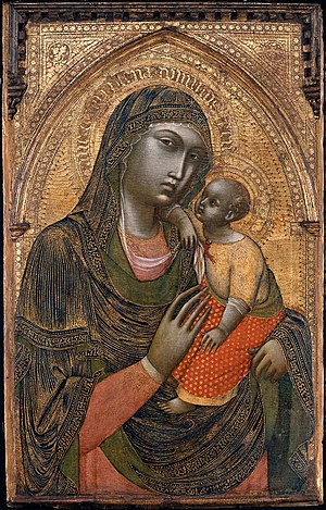 Barnaba da Modena - Image: Barnaba da Modena Virgin and Child WGA1281