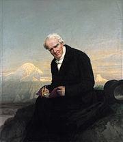 Baron Alexander von Humboldt by Julius Schrader 1859 retouched