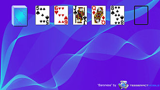 Baroness (solitaire) - Image: Baroness (solitaire) Layout