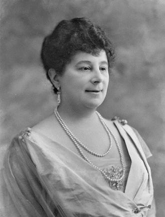 Emma Orczy - Portrait of Baroness Emma Orczy by Bassano