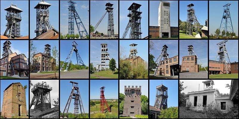 File:Bassin minier du Nord-Pas-de-Calais - Les chevalements subsistants.jpg