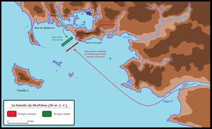 Veneti (Gaul) - Battle of Morbihan