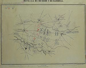 Battle of Burgos - Image: Batalla gamonal