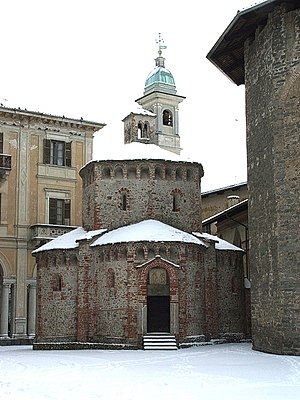 Biella - Baptistery of Biella