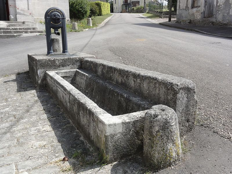 Baudrémont (Meuse) pompe Lemaire B
