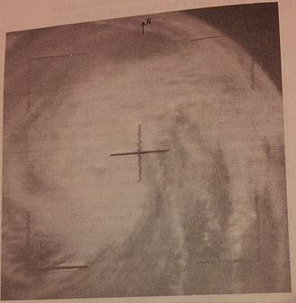 Pre-1975 North Indian Ocean cyclone seasons - This deadly tropical cyclone's picture was taken by the TIROS X weather satellite over the Bay of Bengal on December 14, 1965