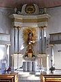 Bayreuth - Schlosskirche Bayreuth, Altar.jpg