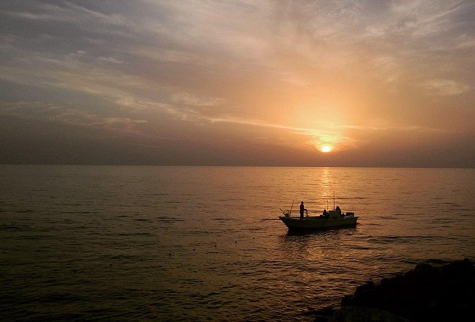 Beach Sunset at RAK