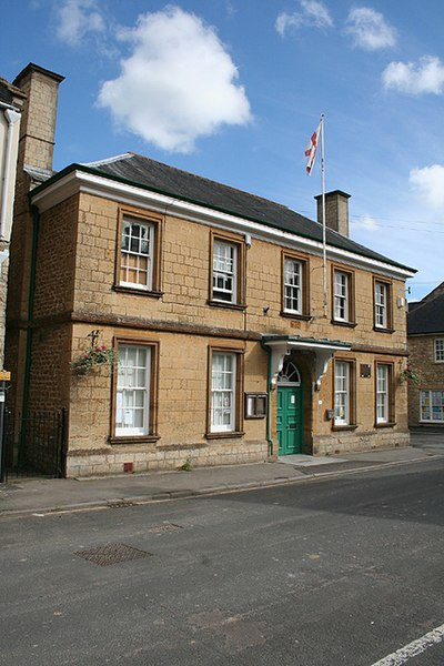 File:Beaminster, public hall - geograph.org.uk - 922659.jpg