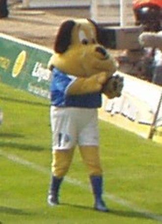 Birmingham City F.C. - Birmingham City mascot Beau Brummie